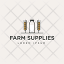 Farm Trademark Farm Insignia Farm Logo Icon