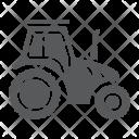 Farm Tractor Farming Icon