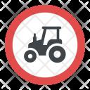 Farm Traffic Icon