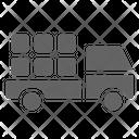 Farm Truck Transportation Icon