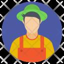 Agriculture Farmer Farming Icon