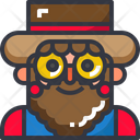 Farmer Agriculture Man Icon