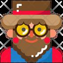 Farmer Agriculture Man Icon