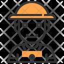 Farmer Avatar Hat Icon