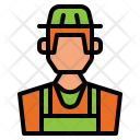 Farmer Avatar Gardener Icon