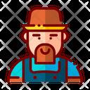 Farmer Farm Person Worker Icon