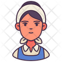 Woman Avatar Occupation Icon