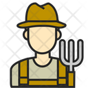 Avatar Farmer Man Icon