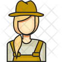 Avatar Farmer Female Icon