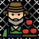 Farmer Gardener Occupation Icon