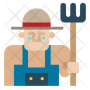 Job Farmer Professions And Jobs Icon
