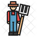 Farmer Farm Fork Icon