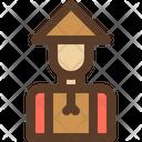 Farmer Man Farm Icon