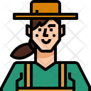 Occupation Avatar Farmer Icon