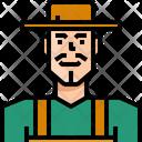 Occupation Avatar Farmer Icon