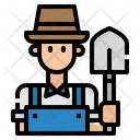 Farmer Avatar Man Icon
