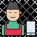 Farmer Worker Avatar Icon