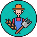 Farmer Grower Producer Icon