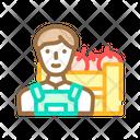 Farmer Worker Color Icon