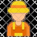 Farmer Gardener Avatar Icon