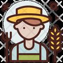 Farmer Profession Professional Icon