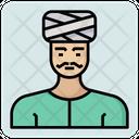 Hindu Man Icon