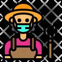 Farmer Jobs Occupation Icon