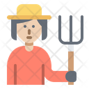 Farmer Gardener Avatar Icon