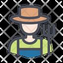 Farmer Gardener Hat Icon