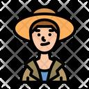 Farmer Man Gardener Icon