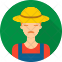 Farmer Agriculture Avatar Icon