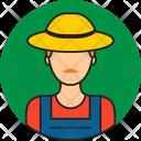 Farmer Avatar People Icon