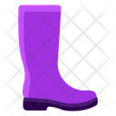 Cowboy Boots Farmer Shoe Long Boots Icon