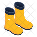Farmer Shoes Rubber Boots Long Shoes Icon