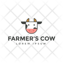 Cow Trademark Cow Insignia Cow Logo Icon
