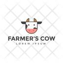 Farmers Cow Icon