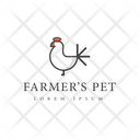 Pet Trademark Pet Insignia Pet Logo Icon