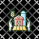 Farmer Support Local Icon