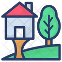 Farmhouse House Home Icon