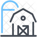 Farm Harvest Silo Icon