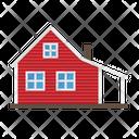 Farmhouse Farm House Icon
