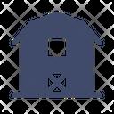 Barn Farmhouse Stock Icon