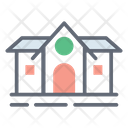 Barn Farmhouse Hut Icon