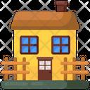 Farm Farmhouse Hut Icon