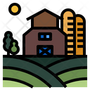 Farming Agriculture Field Icon