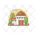 Farm Farmhouse Hut Icon