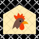 Farm House Animal Icon