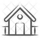 Shed Hut Home Icon