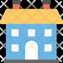 Farmhouse Agricultural Rural Icon