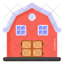 Country Home Barn Farmhouse Icon